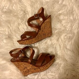 American Rag Cie Women's Cork Wedge Heels